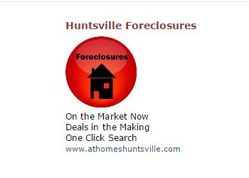 Foreclosure Real Estate in Huntsville AL