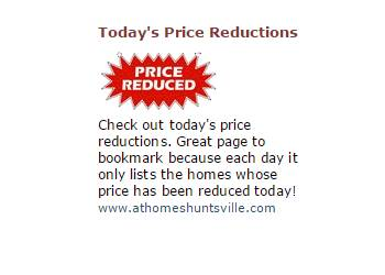 Todays Price Reduced Homes For Sale
